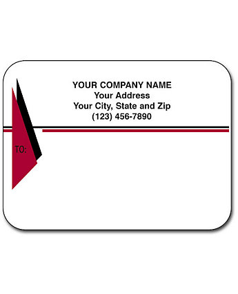 Matte Mail Labels Flat