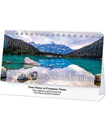 Scenes Across America Desk Cal.