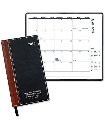 World Map Monthly Pocket Planner
