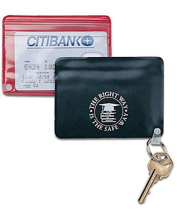 Pass Case Key Ring