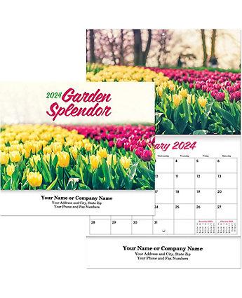 Garden Splendor Wall Calendar Stpl