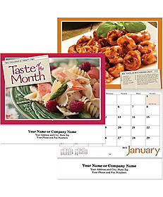 TASTE OF THE MONTH WALL CALENDAR