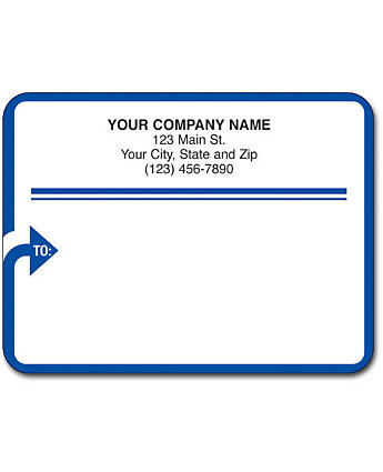 Matte Mail Labels Rolled