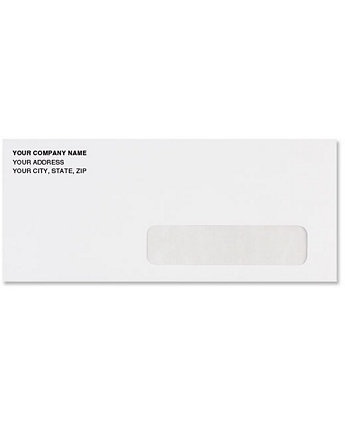 #10 Right Hand Window Envelope
