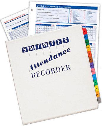 2014 Attendance Calendar Start Kit
