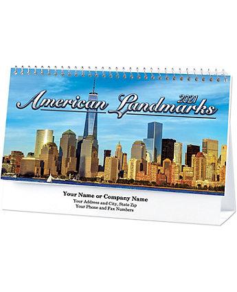 Historic Landmarks Desk Calendar