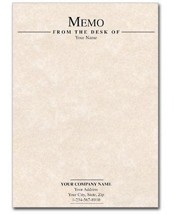 Memo-Parchment-Natural