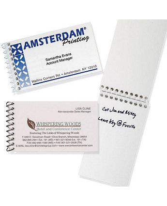 Business Card Notebook