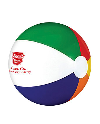 Six Color Beach Ball 6 Inch