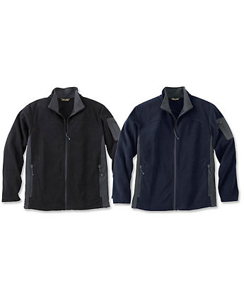 North End Micro Fleece Mens Jacket