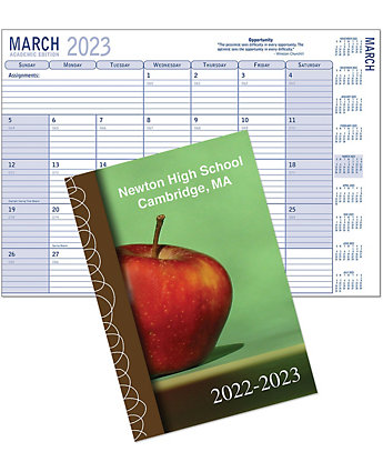 Academic Planner with Logo