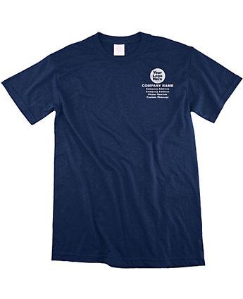 Ladies 100% Cotton T-Shirt Embroid.