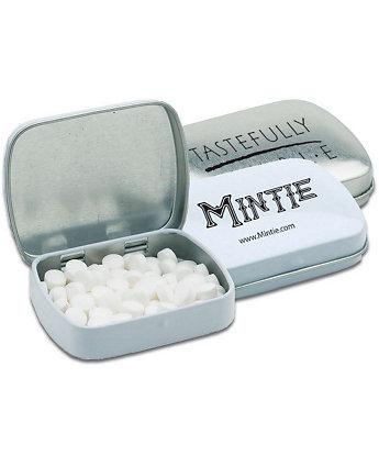 Square Tin Of Mints