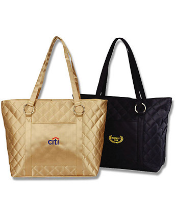 Ladies Quilted Tote Bag