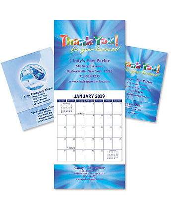 Digital Budget Pro Wall Calendar