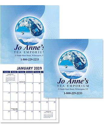 Digital Budget Wall Calendar