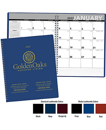 Monthly Spiral Bound Planner