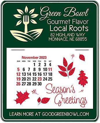 Ad-Here Stick Calendar