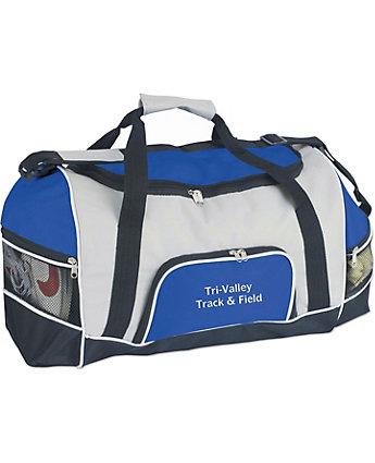 Tri-Pocket Sport Duffel Bag
