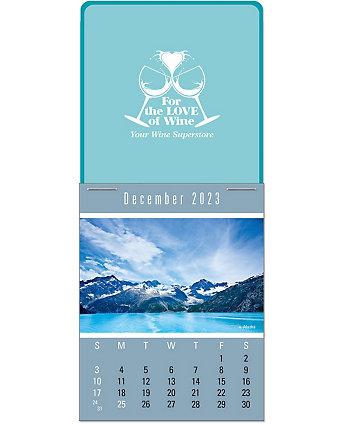 Scenic Picture Stick Calendar