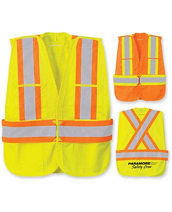 Safety Vest W/Five Point Tear Away