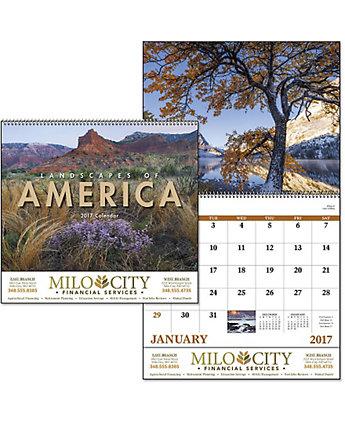 Landscapes Of America Wall Calendar