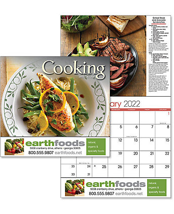 A Taste For Cooking Wall Calendar