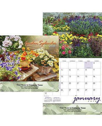 Gardens Wall Calendar