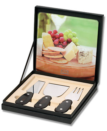 4 Piece Cheese Board Gift Set