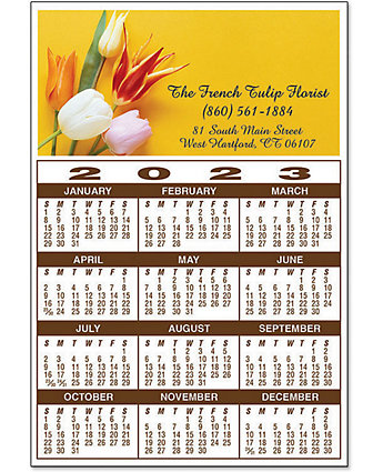 Magnet Calendar Year At-A-Glance