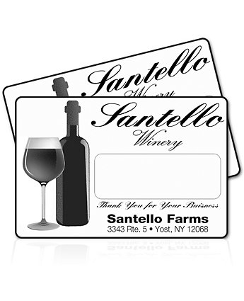 2X3 Inch Rectangular Labels 1 Color