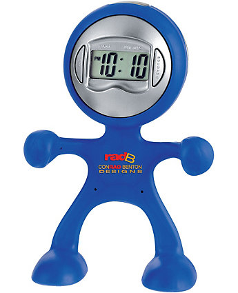 The Flex Man Digital Clock