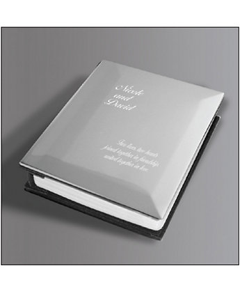 Brushed Nickel Photo Album