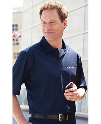 Men's Snag Protection Solid Polo