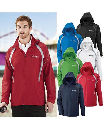 Jacket Hooded Lightweight Embroider
