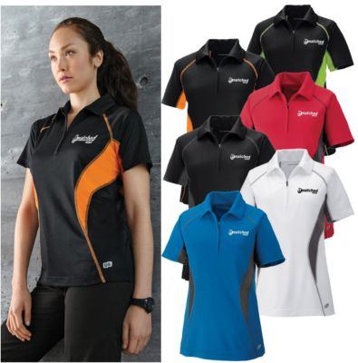 cotton embroidered polo shirt for women