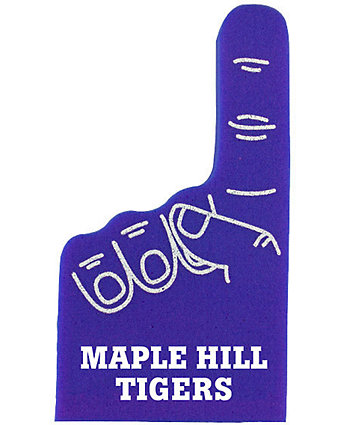 12 In. Number 1 Foam Hand