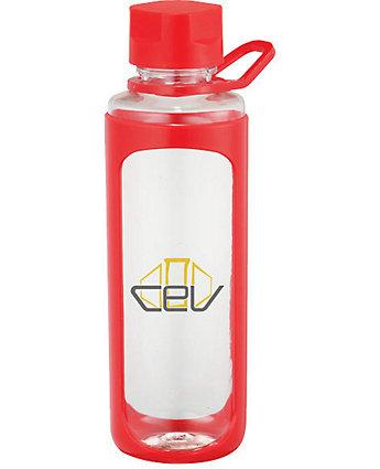 Clear Oval Sports Bottle 22 oz