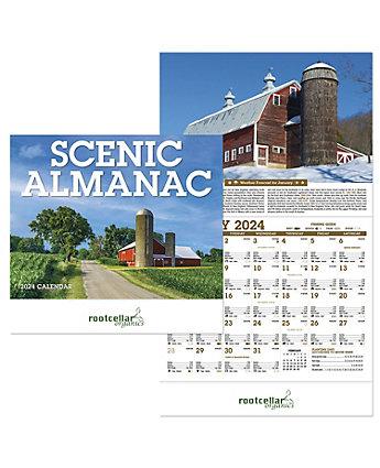 Scenic Almanac Wall Calendar