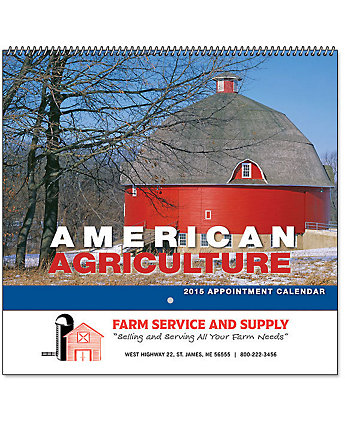 American Agriculture Wall Calendar