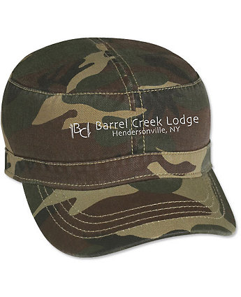 Cap Military Embroidered