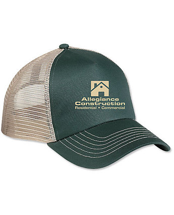 Cap 5 Panel Mesh Back Screened