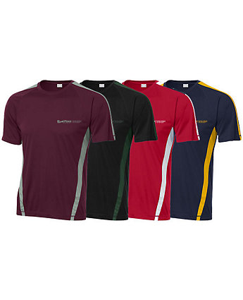 T-Shirt Colorblock Sport Screened