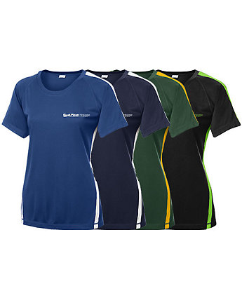 Colorblock Competitor Tee Ladies
