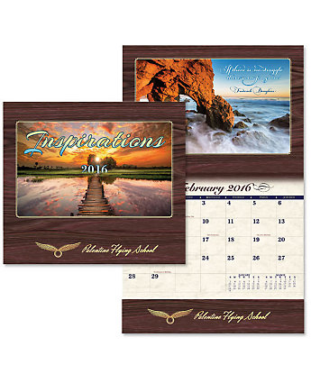 Luxe Wall Calendar Inspirations