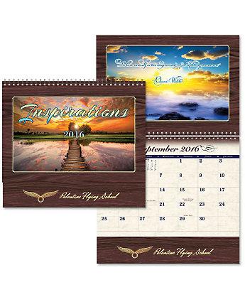 Luxe Calendar Inspirations Spiral