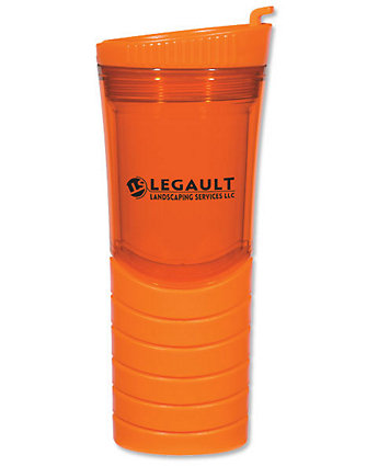 Double Wall Gripper Tumbler 16 oz