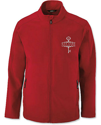 Jacket Soft Shell Embroidered