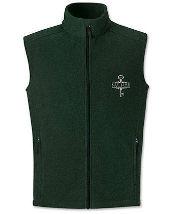 Vest Fleece Embroidered