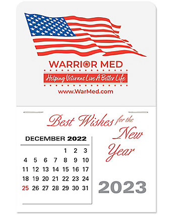 Patriotic Stick Calendar